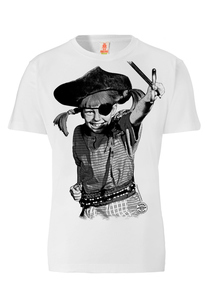 LOGOSHIRT - Pippi Langstrumpf - Pirat - T-Shirt - 100% Organic Cotton - LOGOSH!RT