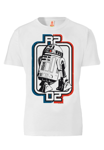 LOGOSHIRT - Star Wars - R2-D2 - T-Shirt - 100% Organic Cotton - LOGOSH!RT