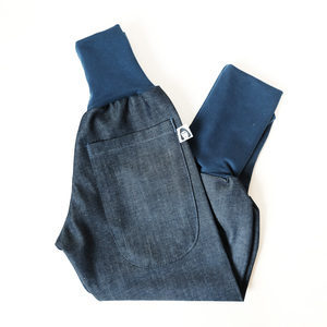 Kinder Jeans Pumphose aus Bio Baumwolle EXPLORER blue denim - betus