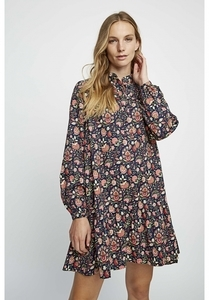 Kleid - V&A Yasmin Print Flared Dress - gemustert - People Tree