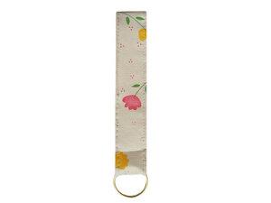 Schlüsselband kurz Tulpe, Upcycling von Leesha Design - Leesha