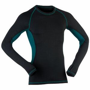 Engel sports Bio Shirt langarm black/hydro - ENGEL SPORTS