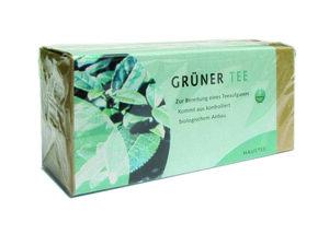 Bio Grüner Tee im Filterbeutel - Weltecke