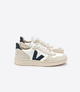 Sneaker Herren -  V-10 B-Mesh White Nautico  - Veja