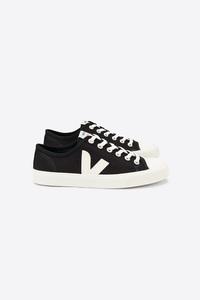 Sneaker Herren - Wata Canvas - Black White - Veja
