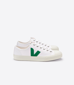 Sneaker Damen - Wata Canvas - White Emeraude - Veja