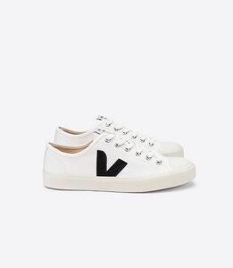 Sneaker Damen - Wata Canvas - White Black - Veja
