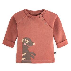Baby Sweatshirt Erdmännchen - internaht