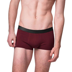 6er Pack Trunk Shorts aus Modal Unterhose Pants schwarz-bordeaux - ege organics
