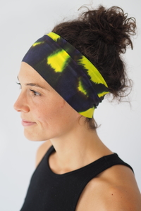 Breites, Dünnes Workout Headband / FLYING TIGER - Arctic Flamingo