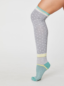Jemima Overknee Sustainable Bamboo Socks                        - Thought | Braintree