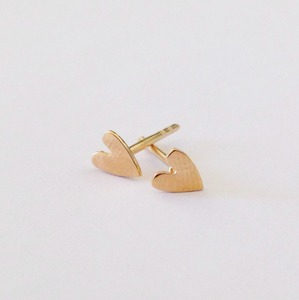 Tiny Heart Earrings - Julia Otilia Organic Jewellery