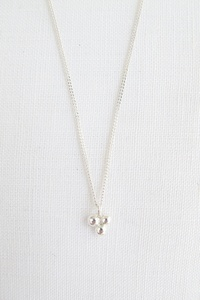 Halskette Silber - triple dot necklace - Sterling Silver - Wild Fawn Jewellery