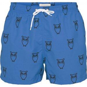 Badehose - Swim Shorts W/ Owl Print - KnowledgeCotton Apparel