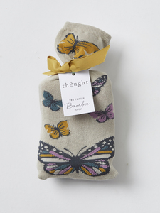 Sockenbox - BUTTERFLY SOCKS IN A BAG – Mehrfarbig - Thought | Braintree
