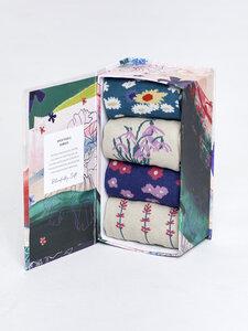 Sockenbox - SPRING FLOWERS SOCK BOX – Mehrfarbig - Thought | Braintree
