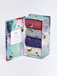 Sockenbox - SPRING MEADOW SOCK BOX – Mehrfarbig - Thought | Braintree