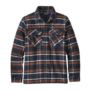 Hemdjacke - M's Insulated Fjord Flannel Jacket - Blue Navy - Patagonia