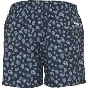 Badehose - Swim shorts with pasley print - Total Eclipse - KnowledgeCotton Apparel