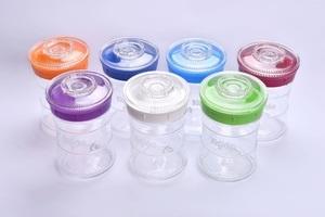 Kefirko-Glassystem zur Herstellung von Kefir (Milchkefir, Wasserkefir) - Kefirko