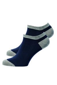 Kurze Socken zweifarbig - recolution