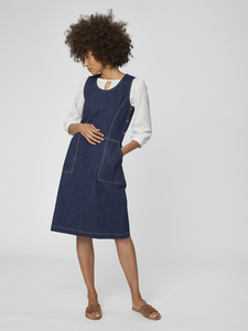 Jeans Kleid - Koco Pincafore Dress – Blau - Thought
