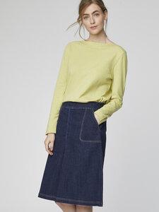 Rock - Koco Skirt – Blau - Thought | Braintree