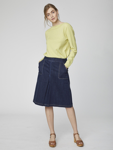 Rock - Koco Skirt – Blau - Thought | Braintree