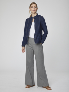 Stoffhose - Camile Trousers – Grau - Thought | Braintree