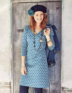 Geelke Jersey-Kleid, langarm - Deerberg