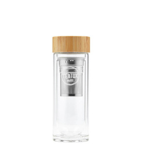 Tea to go Thermosflasche aus Glas - TEATOX