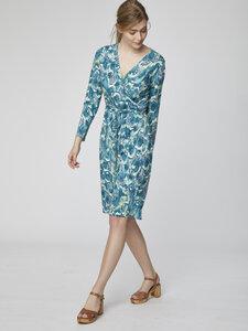 Kleid - Emmeline Dress - Blau - Thought | Braintree