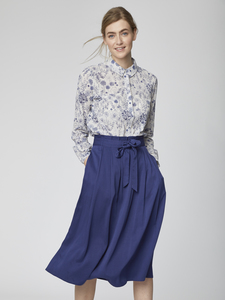 Midi Rock - Sandreen Skirt - Blau - Thought
