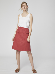 Rock - Osvaldo Skirt – Rot - Thought | Braintree