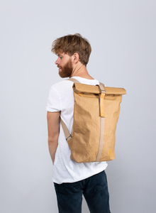KAFFKABAGS - Veganer Rucksack aus recyceltem Papier - Modell Ludicium - KAFFKABAGS