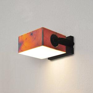 Wandleuchte Z4 aus Holz - exklusives Licht - ALMLEUCHTEN