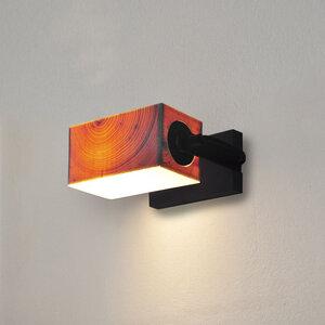 Wandleuchte Z5 aus Holz - exklusives Licht - ALMLEUCHTEN