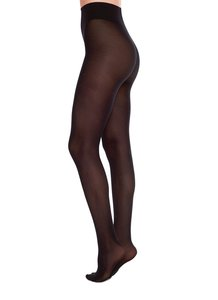 40den Schwarz - gepunktete Strumpfhose - Filippa Dots - Swedish Stockings
