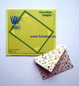 Schablone für Briefumschläge - futo