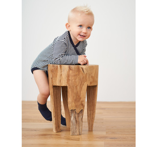Baby Wickelbody Langarm - Living Crafts