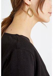 Ohrringe - Large Diamond Earrings - People Tree