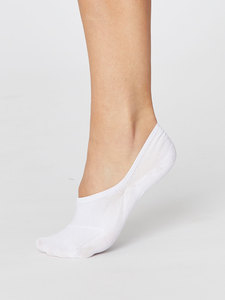 No Show Invisible Bamboo Socks Ladies - Thought