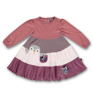 Langarmkleid Pinguin faded rose  - Ubang