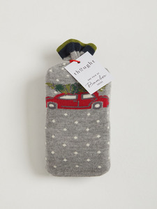 2 Paar Festive Pine Sustainable Bamboo Socks in a Bag          - Thought