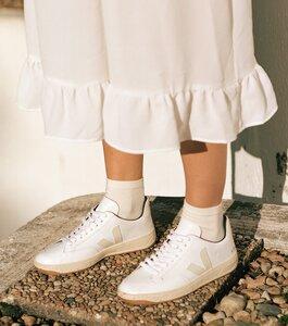 Sneaker Damen - V-12 B-Mesh - White Natural - Veja