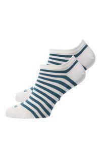 Kurze Socken gestreift - recolution