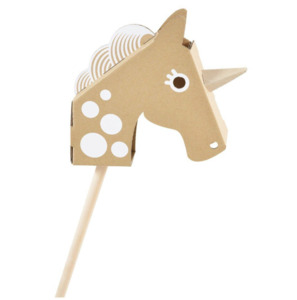 Flatout Frankie - little unicorn head - Einhorn - flatout frankie