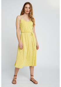 Kleid - Marcy Dragonfly Dress - Yellow - People Tree