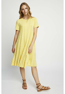 Kleid - Jenna Dragonfly Dress - Yellow - People Tree