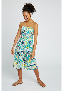 Jumpsuit - Tanya Tropical - Multi Coloured - People Tree